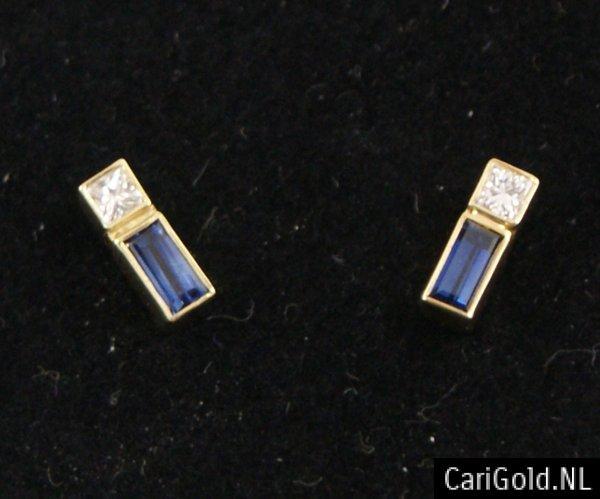 CariGold_nl_Oorstekers_14k_goud_diamant_saffier_HO002B