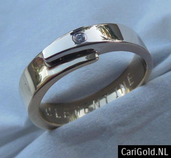 CariGold_nl_ring_14K_bicolour_goud_diamant_DR008A